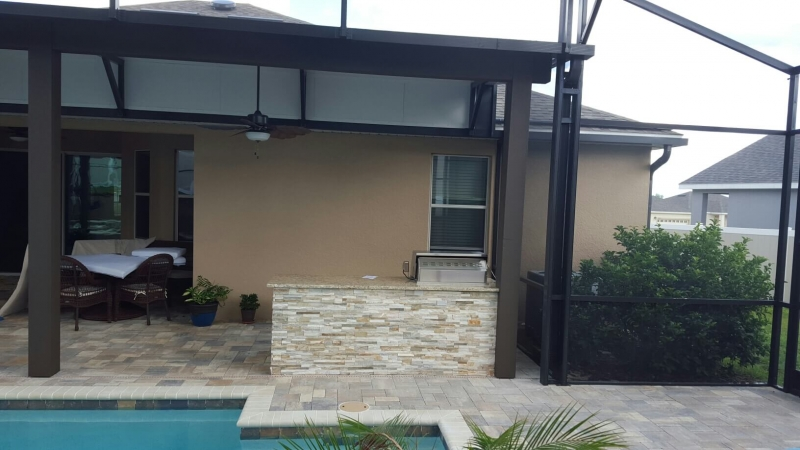 Screen Rooms Clermont Galleries Lake Mary Outdoor Kitchens Orlando