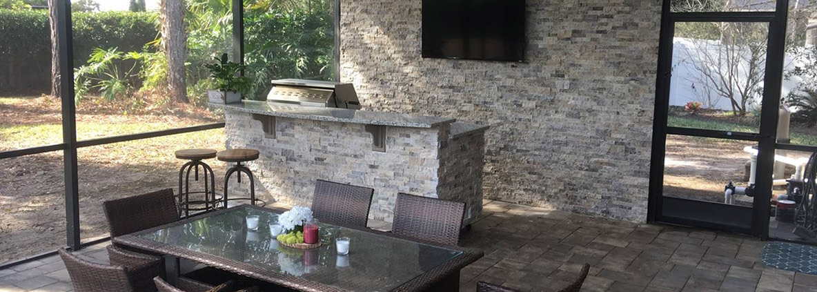 Custom Designed Outdoor Kitchens Clermont | Grills Lake Mary | Orlando